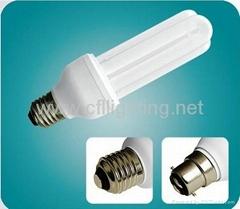3U energy saving lamp power saving lamp Tri- phosphor Powder CFL Lamp  T4-ETU01