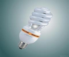 half spiral energy saving lamp CFL