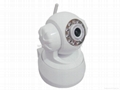 Wireless IP Camera with IR Night version& Pan/Tilt Remote control