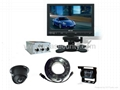 Bus/Truck Rear view system with cctv dome camera & 7'' TFT Monitor