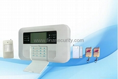 Quad Band GSM PSTN LCD Alarm System for home/office/shop security