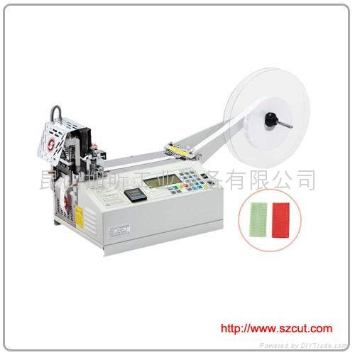 120LR Auto-belt loop cutting machine