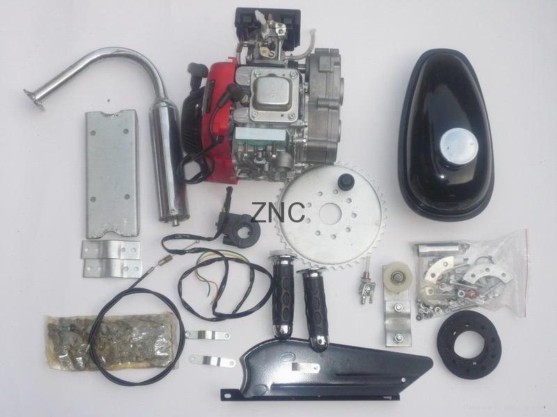 4 Stroke 49cc Bicycle Engine Kit 142fa Znc China