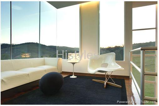 Eames La Chaise/Barrel Arm Chair : eames la chaise - Sectionals, Sofas & Couches