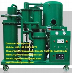 Vacuum Lube Oil Purifier Oil Filtering Oil Recycling Machine