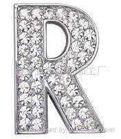 穿帶字母 1