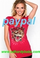 Wholesale Ed Hardy Womens t-shirts