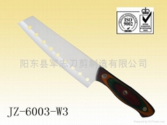 Hige Quality Ceramic Knife With Wood Handle