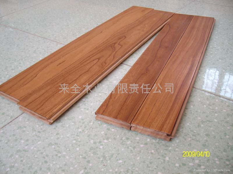 老榆木实木地板