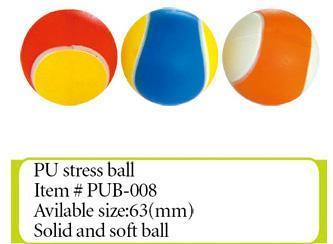 PU发泡玩具弹力球 2
