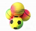 dog toy rubber ball with hi bouncing 60mm diameter 5