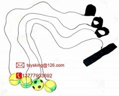 手腕弹力橡胶玩具球60MM荧光中号