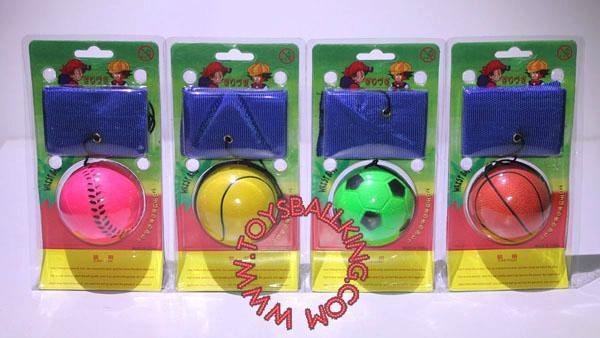 60mm wrist rubber bouncing ball 2
