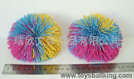 橡胶毛毛玩具球 1