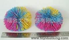 橡胶毛毛玩具球