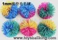 橡胶毛毛玩具球 2