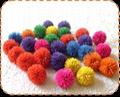 橡胶毛毛玩具球 5