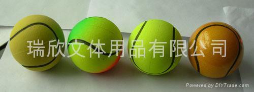橡胶弹力玩具球 4