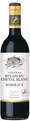 白马颂干红葡萄酒CHÂTEAU RELAIS DU CHEVAL BLANC
