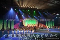广州专业灯光音响租赁