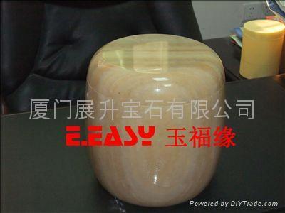 黃金蜜蠟玉骨灰罐 1