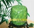 綠岫玉實用工藝品骨灰罐