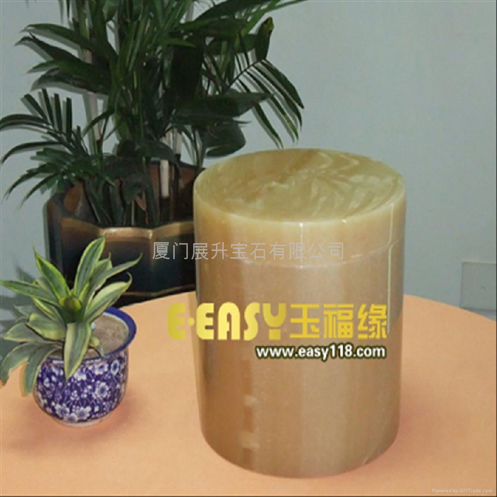 黃金蜜蠟玉骨灰罐 2