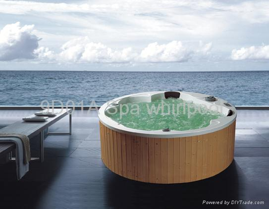 outdoor spa whirlpool bathtub 9d china trading company. Black Bedroom Furniture Sets. Home Design Ideas