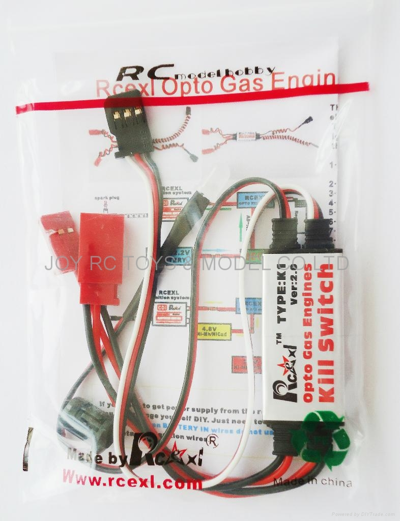 Opto Gas Kill Switch http://www.diytrade.com/china/pd/10350582/Rcexl_opto_gas_engines_kill_switch_V2_0.html