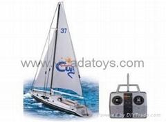 rc sail boat