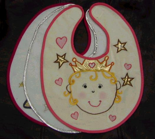 baby embroidery bibs 1