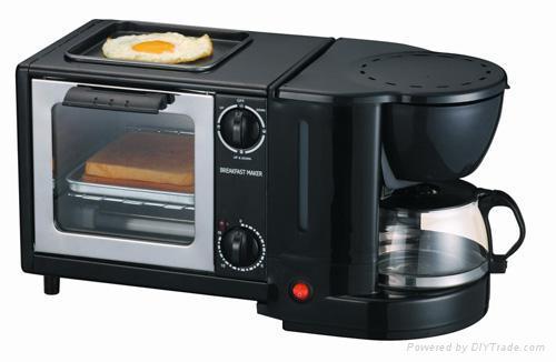 3 in 1 breakfast machine
