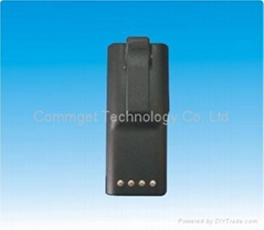 Two-way radio battery for GP300, GTX, LTS radios.