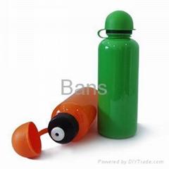 Plastic drinking bottles