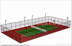 壁球館 丙烯酸球場塗料 運動場配套設施 體育器材、健身路經