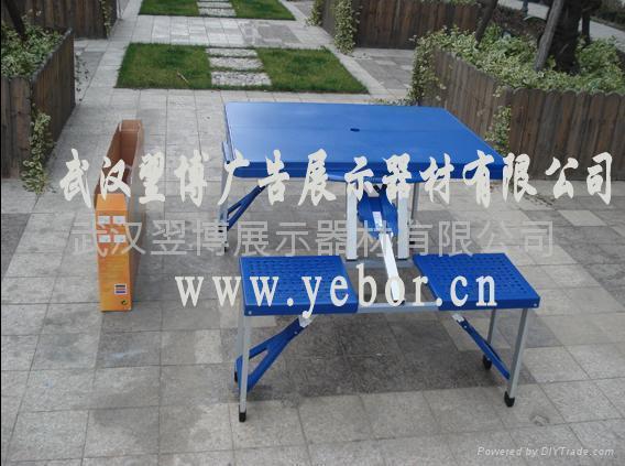 武漢塑料連體桌椅出售批發 1
