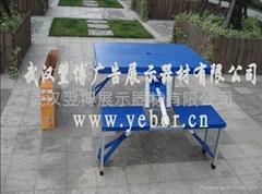 武漢塑料連體桌椅出售批發