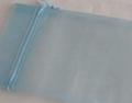 100 *white organza pouch