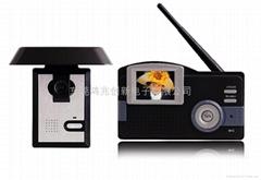 远距离2.4G无线可视对讲门铃