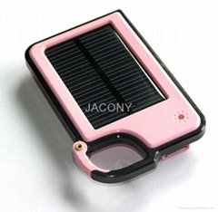 Solar charger for various mobile phones,MP3 etc+8 color options