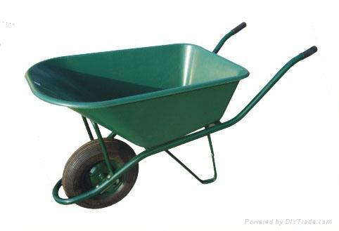 Aluminium wheelbarrow wheel barrow tool carts wb5206 for Industrial garden tools