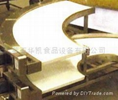 PVC转弯式皮带输送机