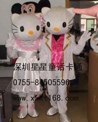 深圳星星动漫卡通服装
