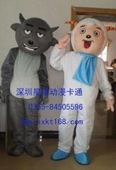 深圳星星人偶卡通服裝