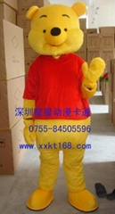 深圳星星毛绒卡通服装