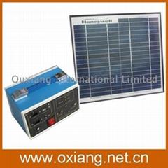 DC Portable solar generator