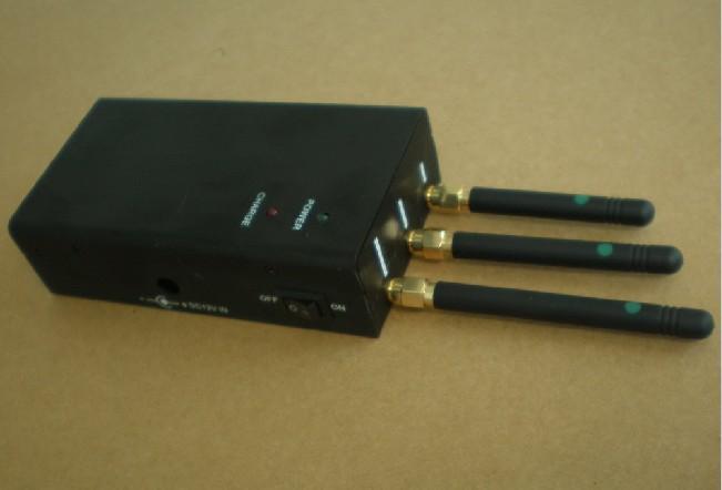 Camera jammer   Portable Cell Phone Jammer (Middle RF power jammer +Handbag design) For VIP People