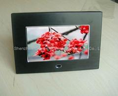 7'' digital photo frame with AV out(QYDP-702-3)