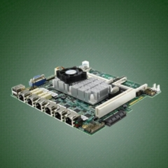 4 or 6 GbE RJ-45 firewall motherboard