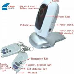 汇潮3G视频监控防盗报警器